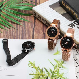 Demton SidPega Jam Tangan Analog Wanita Luxury Starry Sky - LJS057 - Rose Gold - 4