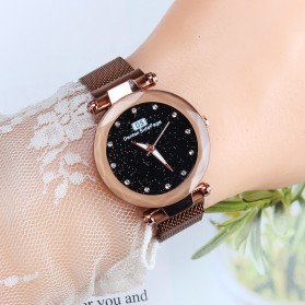 Demton SidPega Jam Tangan Analog Wanita Luxury Starry Sky - LJS057 - Rose Gold - 5