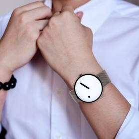ZAPET Jam Tangan Analog Fashion Pria - W249203 - Black - 4