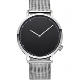Xiniu Jam Tangan Kasual Pria Stainless Steel - A03502 - Silver Black
