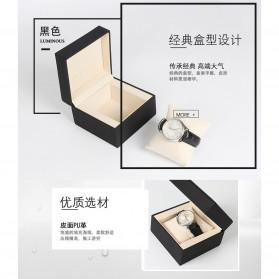 Qiwatch Kotak Jam Tangan Watch Box Size L - Qi1 - Black - 3