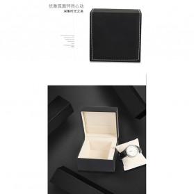 Qiwatch Kotak Jam Tangan Watch Box Size L - Qi1 - Black - 6