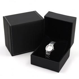Qiwatch Kotak Jam Tangan Watch Box Size S - Qi1 - Black - 1
