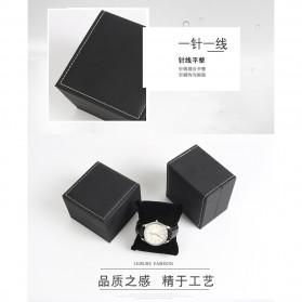Qiwatch Kotak Jam Tangan Watch Box Size S - Qi1 - Black - 3