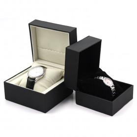 Qiwatch Kotak Jam Tangan Watch Box Size S - Qi1 - Black - 4