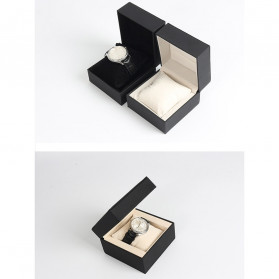 Qiwatch Kotak Jam Tangan Watch Box Size S - Qi1 - Black - 7