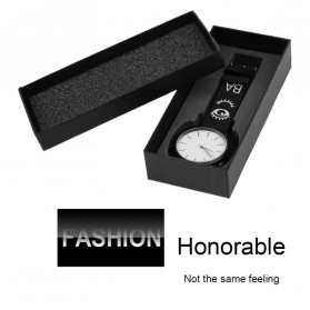 GENBOLI Kotak Jam Tangan Watch Box - ZG930401 - Black - 4
