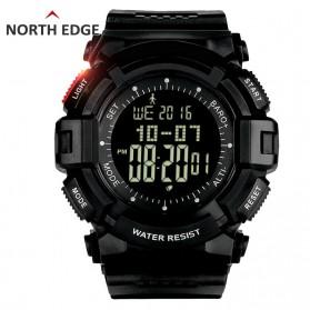 NORTHEDGE Edge Warrior Jam Tangan Digital Pedometer Altimeter Barometer - Black