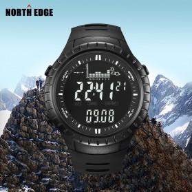 NORTHEDGE Edge Peak Jam Tangan Digital Pedometer Altimeter Fish Finder - Black - 2