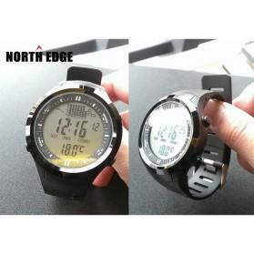 NORTHEDGE Edge Peak Jam Tangan Digital Pedometer Altimeter Fish Finder - Black - 3
