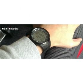 NORTHEDGE Edge Peak Jam Tangan Digital Pedometer Altimeter Fish Finder - Black - 4