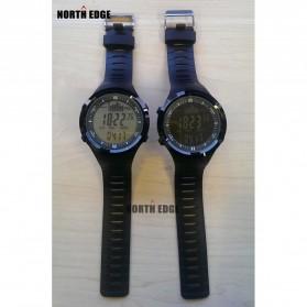 NORTHEDGE Edge Peak Jam Tangan Digital Pedometer Altimeter Fish Finder - Black - 5
