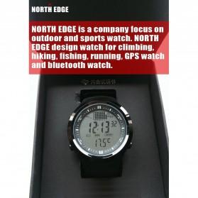 NORTHEDGE Edge Peak Jam Tangan Digital Pedometer Altimeter Fish Finder - Black - 6