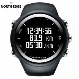NORTHEDGE Edge X-Trek Jam Tangan Digital Pedometer Calorie - Black