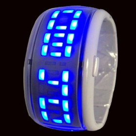 LED Watches - AA-W011 - Silver