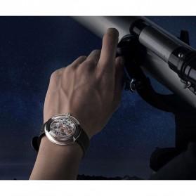 Xiaomi CIGA T Series Jam Tangan Mechanical Watch Hollow Silicone Strap - Black - 6