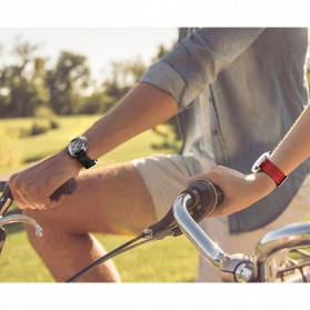 Xiaomi CIGA T Series Jam Tangan Mechanical Watch Hollow Silicone Strap - Black - 10
