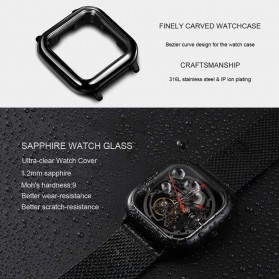 Xiaomi CIGA T Series Jam Tangan Mechanical Watch Skeleton Model Kotak - Silver - 3