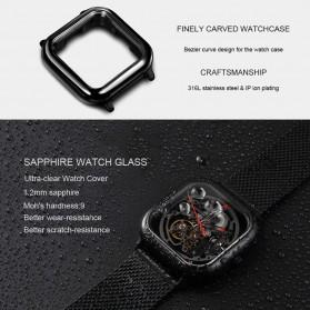 Xiaomi CIGA T Series Jam Tangan Mechanical Watch Skeleton Model Kotak - Black - 3