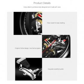 Xiaomi CIGA T Series Jam Tangan Mechanical Watch Skeleton Model Bulat - Black - 5
