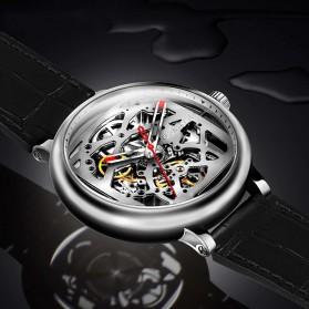 Xiaomi CIGA T Series Jam Tangan Mechanical Watch Skeleton Model Bulat - Black - 6