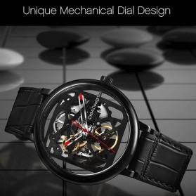 Xiaomi CIGA T Series Jam Tangan Mechanical Watch Skeleton Model Bulat - Black - 8