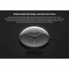 Xiaomi Mijia Quartz Jam Tangan Analog Digital Smartwatch - SYB01 - Black White - 10
