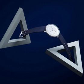 Xiaomi Mijia Quartz Jam Tangan Analog Digital Smartwatch - SYB01 - Black White - 5