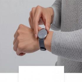 Xiaomi Mijia Quartz Jam Tangan Analog Digital Smartwatch - SYB01 - Black White - 8