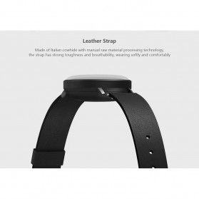 Xiaomi Mijia Quartz Jam Tangan Analog Digital Smartwatch - SYB01 - Black White - 9