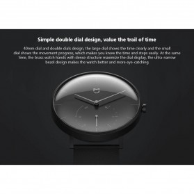 Xiaomi Mijia Quartz Jam Tangan Analog Digital Smartwatch - SYB01 - Black - 10