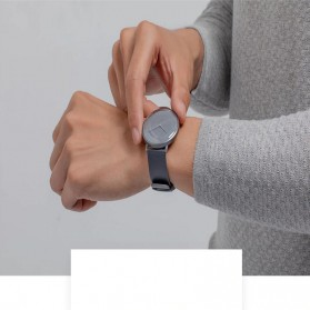Xiaomi Mijia Quartz Jam Tangan Analog Digital Smartwatch - SYB01 - Black - 8