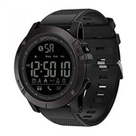 Spovan Jam Tangan Olahraga Smartwatch Bluetooth - PR1-1 - Black - 2