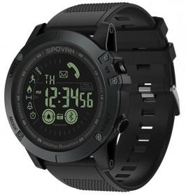 Spovan Jam Tangan Olahraga Smartwatch Bluetooth - PR1-2 - Black - 2
