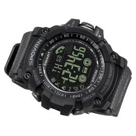 Spovan Jam Tangan Olahraga Smartwatch Bluetooth - PR2-2 - Black - 2