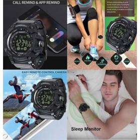 Spovan Jam Tangan Olahraga Smartwatch Bluetooth - PR2-2 - Black - 5