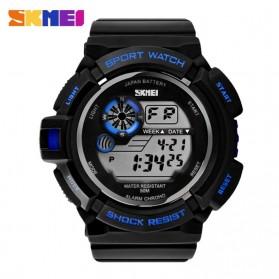 SKMEI S-Shock Sport Watch Water Resistant 50m - DG0939 - Black/Blue
