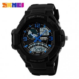 SKMEI Jam Tangan Analog Digital Pria - AD1017 - Blue
