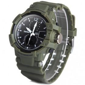 SKMEI Jam Tangan Digital Analog Pria - AD1040 - Army Green - 2