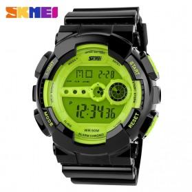 SKMEI Sport Watch Water Resistant 50m - DG1026 - Green