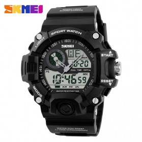SKMEI Jam Tangan Analog Digital Pria - AD1029 - Black - 1