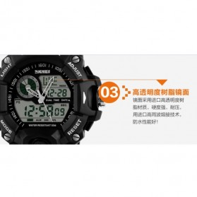 SKMEI Jam Tangan Analog Digital Pria - AD1029 - Black - 5