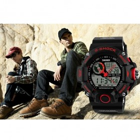 SKMEI Jam Tangan Analog Digital Pria - AD1029 - Black - 6