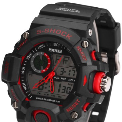 ... SKMEI Jam Tangan Analog Digital Pria - AD1029 - Red - 2 ... d77cc801b0