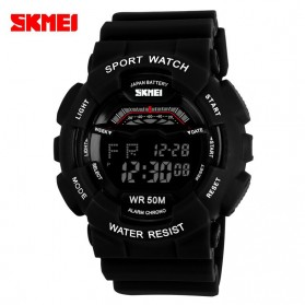 SKMEI S-Shock Sport Watch Water Resistant 50m - DG1012 - Black