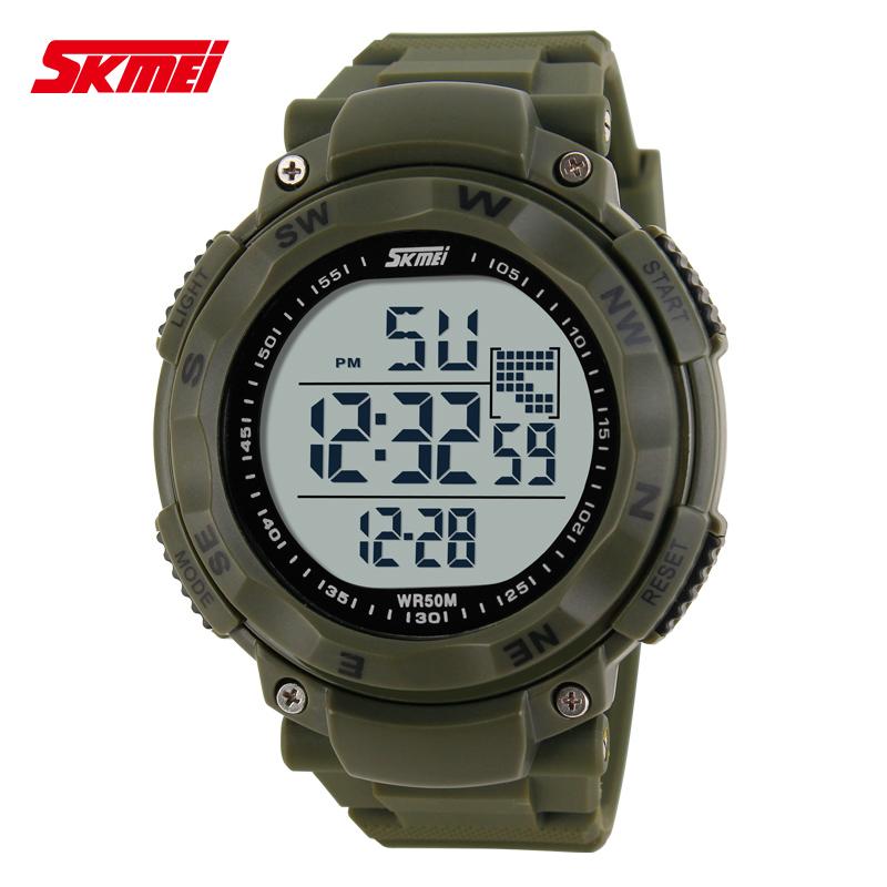 ... SKMEI Jam Tangan Digital Pria - DG1024 - Army Green - 1 ...
