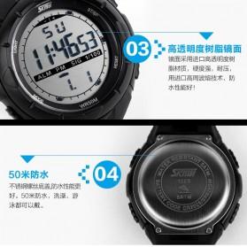 SKMEI Jam Tangan Sport Digital Pria - DG1025 - Titanium Silver - 3