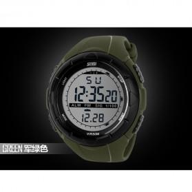 SKMEI Jam Tangan Sport Digital Pria - DG1025 - Army Green - 7