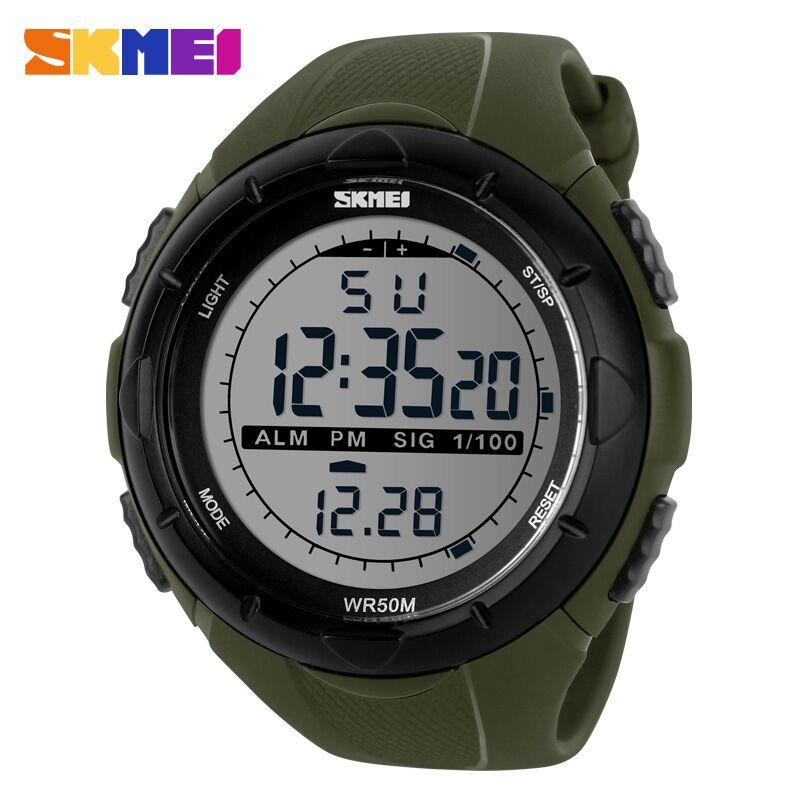 ... SKMEI Jam Tangan Sport Digital Pria - DG1025 - Army Green - 1 ...