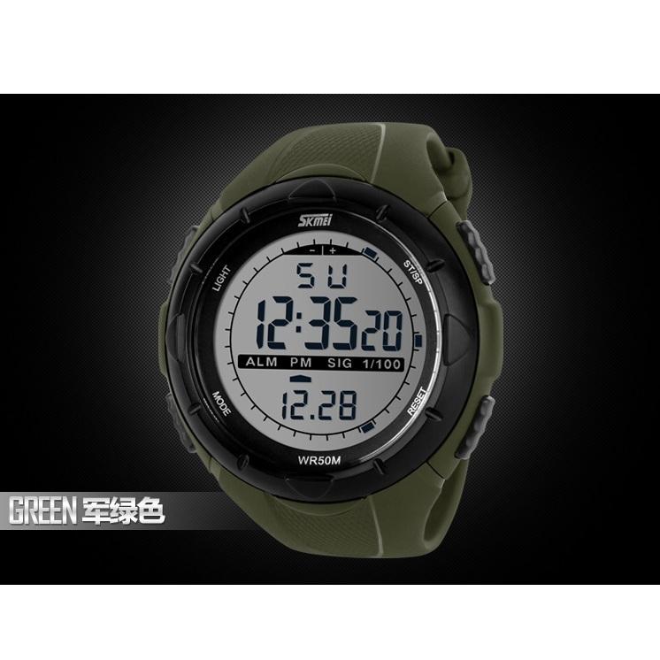 ... SKMEI Jam Tangan Sport Digital Pria - DG1025 - Army Green - 7 ...
